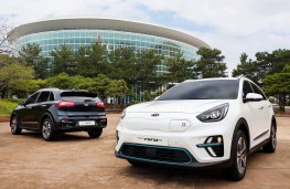 Kia Niro EV unveiled in Korea
