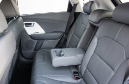 Kia Niro First Edition rear seats