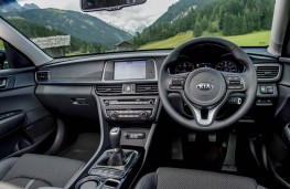 Kia Optima Sportswagon, dashboard
