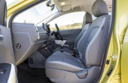 Kia Picanto, front seats