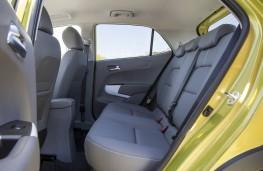 Kia Picanto, rear seats