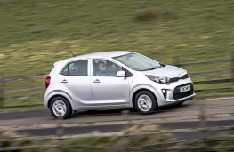 Kia Picanto, side action