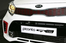 Kia Picanto GT-Line 2017 front detail