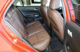 Kia Picanto 2017 rear seats