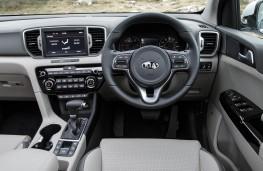 Kia Sportage, dashboard