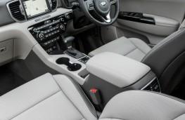 Kia Sportage, front seats