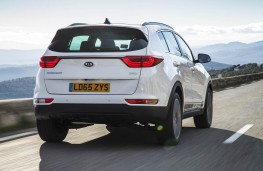 Kia Sportage, rear action