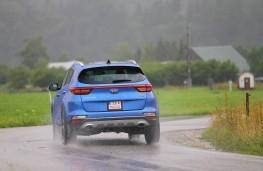 Kia Sportage, rear action