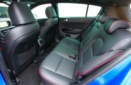 Kia Sportage, rear seats