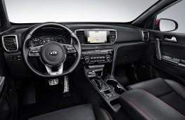 Kia Sportage 2018 cockpit