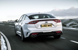 Kia Stinger, action rear