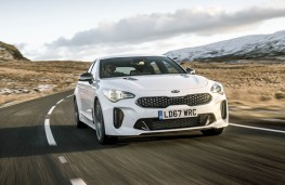 Kia Stinger, front action