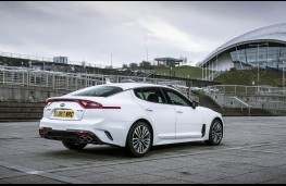 Kia Stinger, static rear