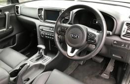 Kia Sportage, New Zealand drive, interior