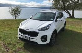 Kia Sportage, New Zealand drive, front