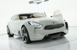 Kia GT Concept, front