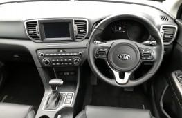Kia Sportage, New Zealand drive, dashboard
