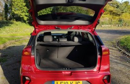 Kia Niro 1.6 GDi '4' Hybrid, boot
