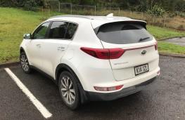 Kia Sportage, New Zealand drive, rear