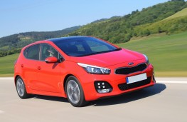 Kia cee'd GT Line, front, action