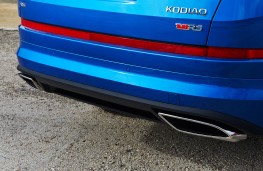 Skoda Kodiaq vRS, 2019, exhausts