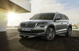 Skoda Kodiaq Laurin and Klement, 2018, front