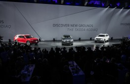 Skoda Kodiaq, world premiere, 2016, line up