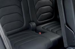 Skoda Kodiaq, 2016, rear seats