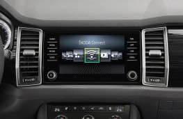 Skoda Kodiaq, display screen