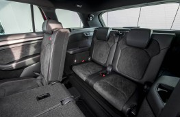 Skoda Kodiaq vRS, 2019, rear seats