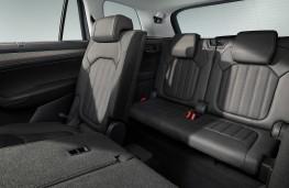 Skoda Kodiaq, 2021, rear seats