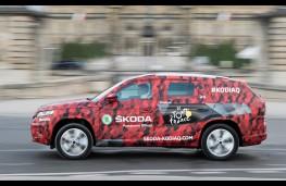 Skoda Kodiaq, Tour de France, side