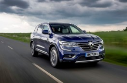Renault Koleos, 2017, front, action