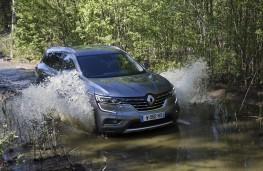 Renault Koleos, 2017, off road, water