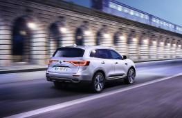 Renault Koleos, 2017, rear, action