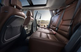 Renault Koleos, 2016, rear seats