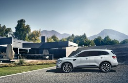 Renault Koleos, 2016, side, static