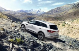 Renault Koleos, 2017, side, action