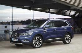 Renault Koleos, 2017, side, static
