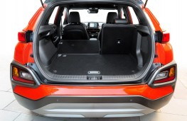 Hyundai Kona, 2017, boot, seats folded