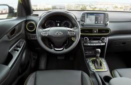 Hyundai Kona, dashboard