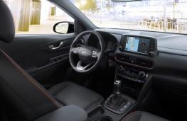 Hyundai Kona, 2017, dashboard