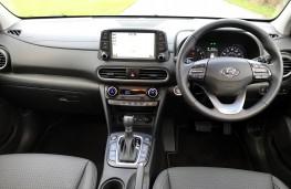 Hyundai Kona, 2018, dashboard