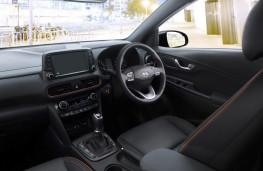 Hyundai Kona, interior, manual