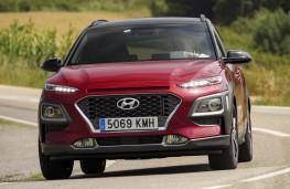 Hyundai Kona 1.6 CRDi, 2018, front, action