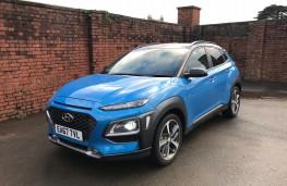 Hyundai Kona, 2018, front, parked