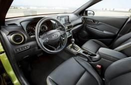 Hyundai Kona, interior