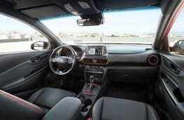 Hyundai Kona, 2017, interior