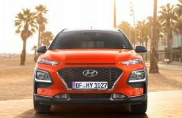 Hyundai Kona, 2017, nose