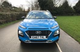 Hyundai Kona, 2018, nose